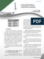 ReflexoesBiblicas APalavraDivina e a Resposta Humana Estudo3