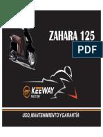 Manual Uso Zahara