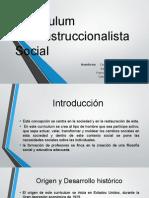 Curriculum Reconstruccionalista Social