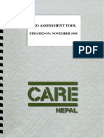 NGO Assessment Tool