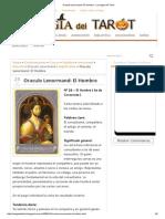 Oraculo Lenormand_ El Hombre - La Magia Del Tarot