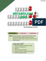 Biokimia-Ayu Puspitasari-metabolisme Lipid 2014