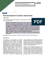 Rural development in transition