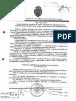 hotarare consiliul general al municipiului bucuresti
