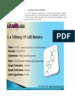 Lysergic Acid Amides