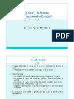 Glottologia riassunta lingua italiana pdf