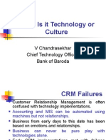 CRM - Customer Contact World  Chandrasekhar