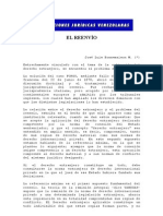 JOSE LUIS BONNEMAISON M - EL REENVÍO