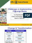 IT@Large Banks - Nasscom 31 Aug 2004 CTO Bank of Baroda Final Chandrasekhar
