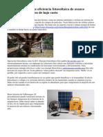 IBM logra r?cord de eficiencia fotovoltaica de avance utilizando materiales de bajo costo