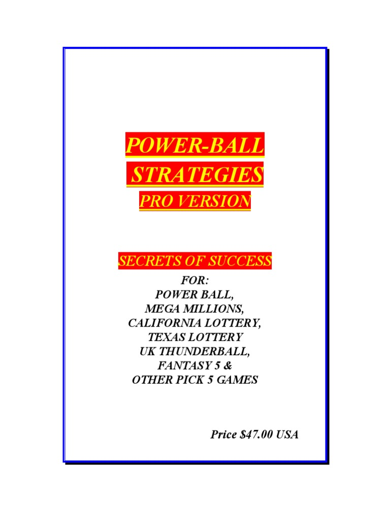 Diff prizes for powerball