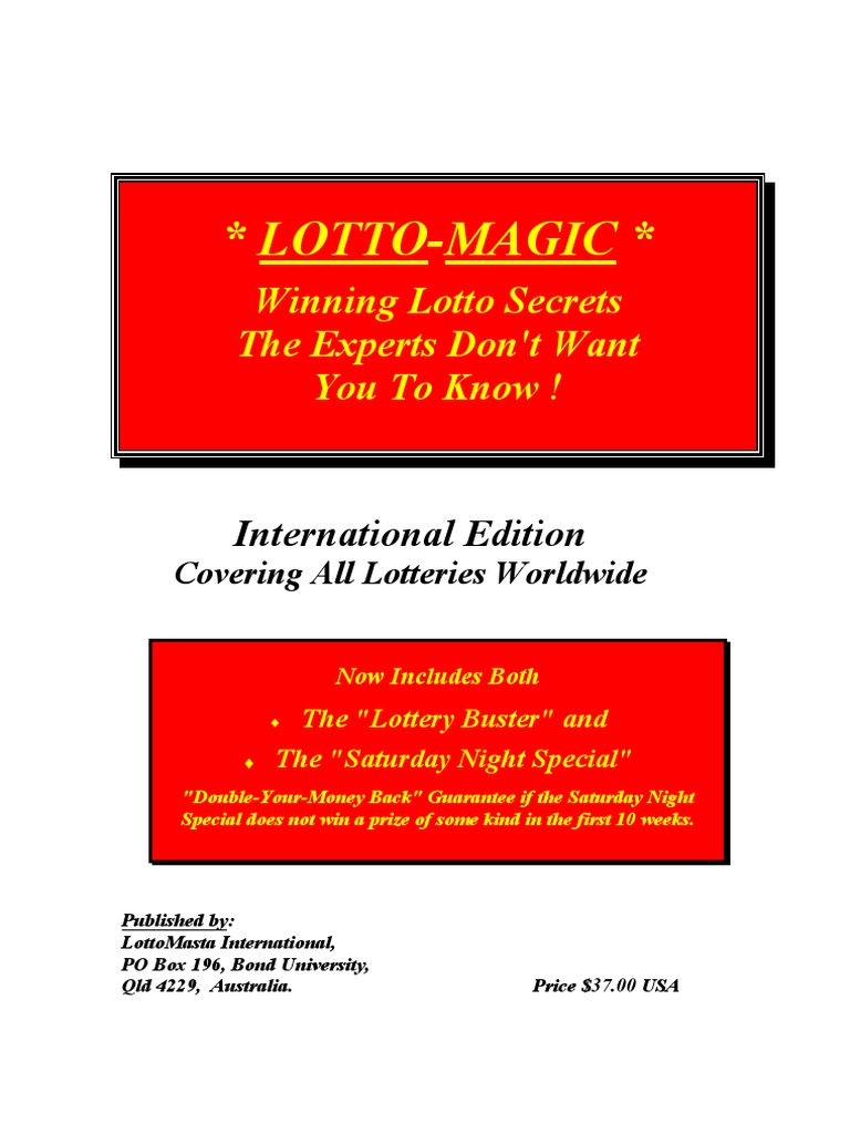 Lotto Secrets Book | Lottery | Gaming And Lottery