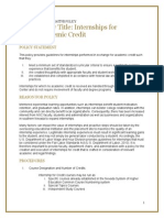 nsc 20141129 internship for credit policy final