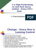 Towards High Performance Secure Tech Savvy Organisation - Chandrasekhar