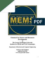 GWU Chemical Gas Biosensors