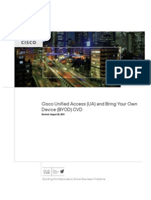 BYOD Design Guide | Cisco Systems | Computer Network