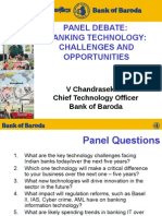 Banking Technologies - Challenges and Opportunities - Chandrasekhar