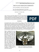 Extending the Size of Alloy 718 Rotating Components