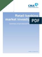 CMA Retail Banking Market Investigation October 2015