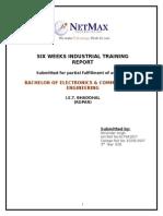 embedded system Industrial Training