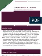 INGENIERIA I TRANSFERENCIA MASA ALIMENTOS
