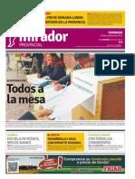 Edición impresa del domingo 18 de octubre de 2015