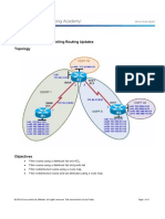CCNPv7 ROUTE Lab4-2 Controlling Routing Updates Student