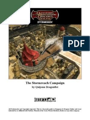 The Stormreach Campaign: by Quijonn Dragonfist