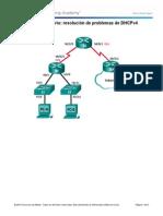 10.1.4.4 Lab - Troubleshooting DHCPv4