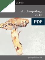 Anthropology 2016