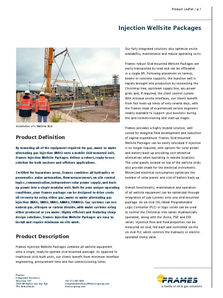 Injection-Wellsite-Packages.pdf.pdf | Natural Gas | Petroleum Reservoir