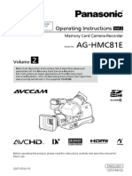 Panasonic Aghmc81eju Manual 2