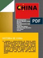 La cultura CHINA