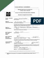 practicum contract agreement
