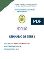Modulo de Seminario de Tesis i