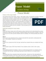 frayer model - vocbulary strategy handout  copy 3