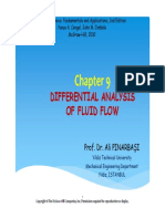 Fluid Chp 9 Differantial Analysis of Fluid Flow