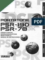 Yamaha PSR190E.pdf