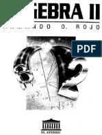 Algebra II - Armando O. Rojo.pdf
