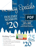 Dynamic Focus Photography Holiday Specials 2015