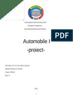 Proiect Automobile 1