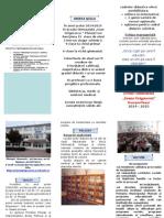 Oferta Scolii 2014-2015