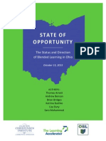 The	Status and Direction of	Blended	 learning	in Ohio