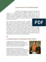 Los movimientos precursores de la independencia en Venezuela.docx