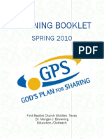 Easter 2010 Staff Planning Book