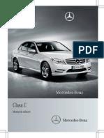 Manual de Utilizare Clasa C 2010