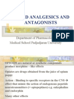 Opioid Analgesics and Antagonists