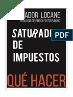 Saturados de Impuestos Con Prologo de Rodolfo Terragno
