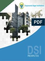 Prospectus Dayananda Sagar