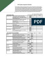 PEI UST Inspection Checklist